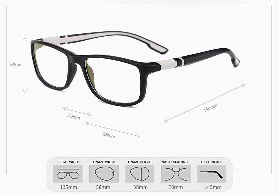 gamer szemüveg méretek