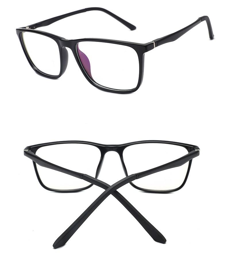 ES1 gamer szemüveg full fekete