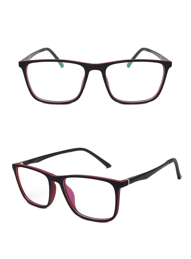 ES1 gamer szemüvge monitor szemüveg piros színben