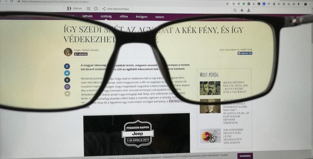 Mi az a monitor szemüveg?