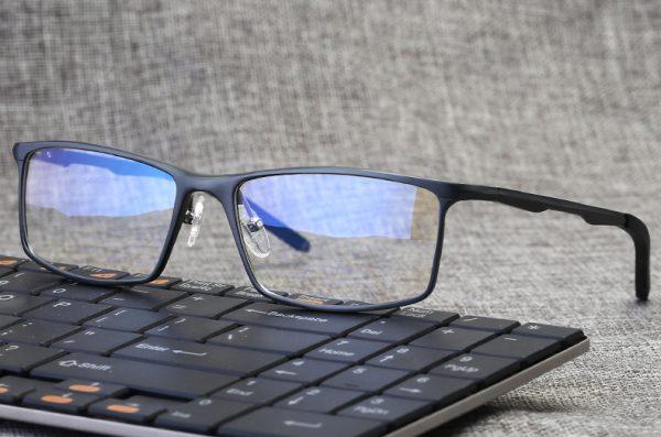 PRO ALLOY1 monitor szemüveg gamer szemüveg gunmetal színben