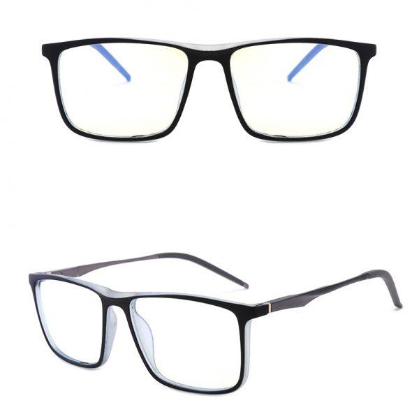 ES2 fekete áttetsző monitor szemüveg