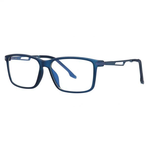 ES3 pro kék gamer szemüveg bal átlós nézetben