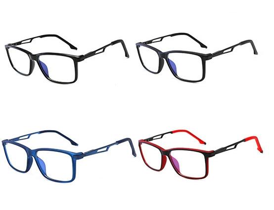 Az ES3 gamer szemüveg színváltozatai