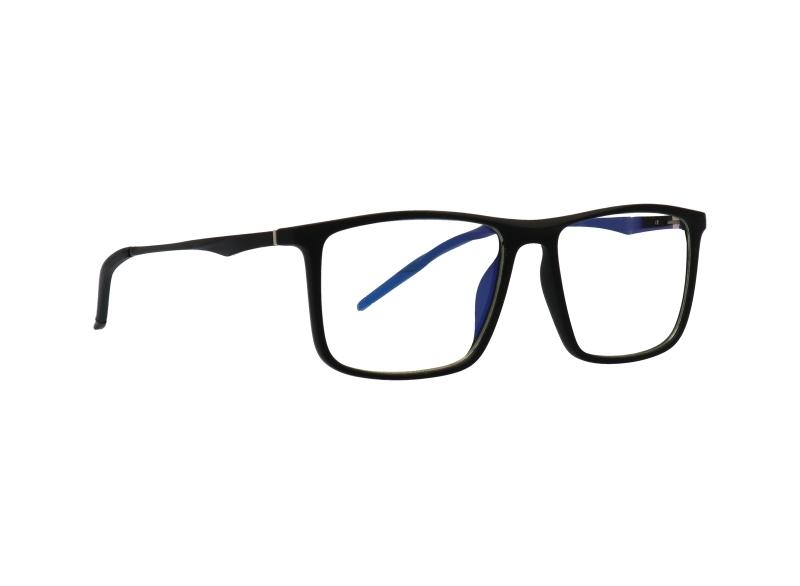 ES2 fekete monitor szemüveg átlós nézetből