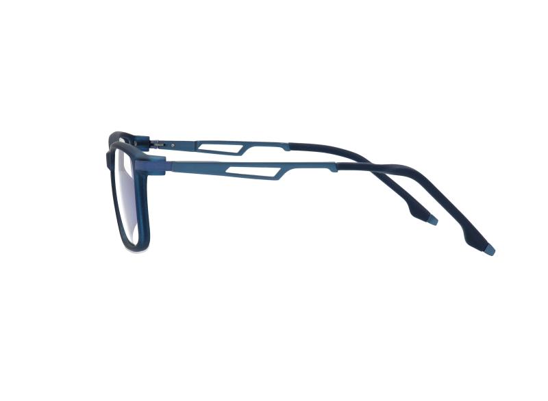 ES3 pro kék gamer szemüveg oldalnézetben