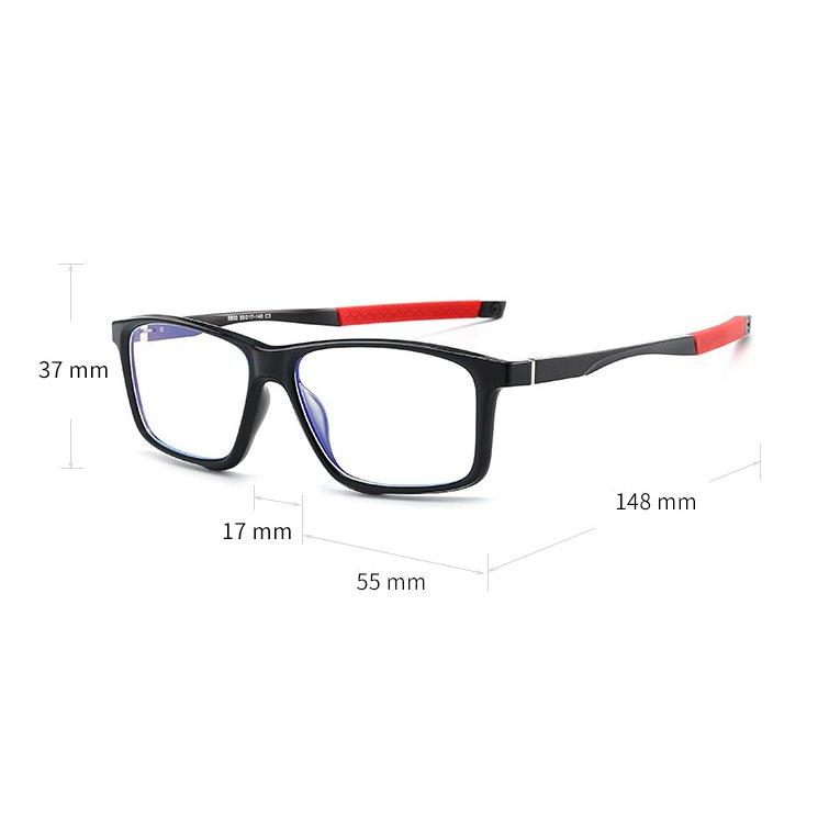 Eyeshield ES4 Kék fény szűrő gamer szemüveg méretek