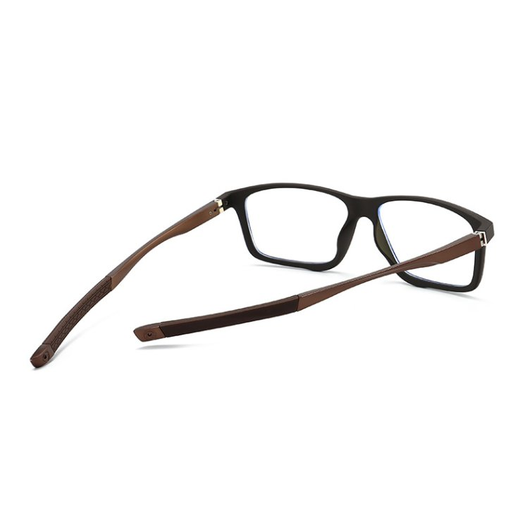 Eyeshield ES4 Kék fény szűrő gamer szemüveg - barna - hűtulnézetből