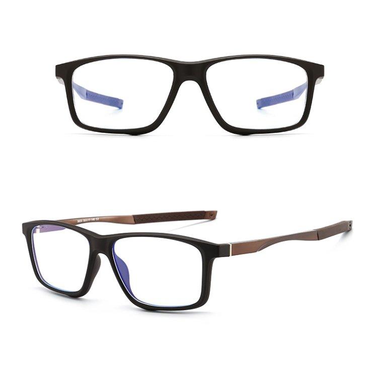 Eyeshield ES4 Kék fény szűrő gamer szemüveg - barna