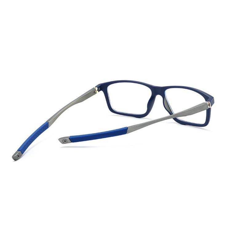 Eyeshield ES4 Kék fény szűrő gamer szemüveg - kék hátulnézetből