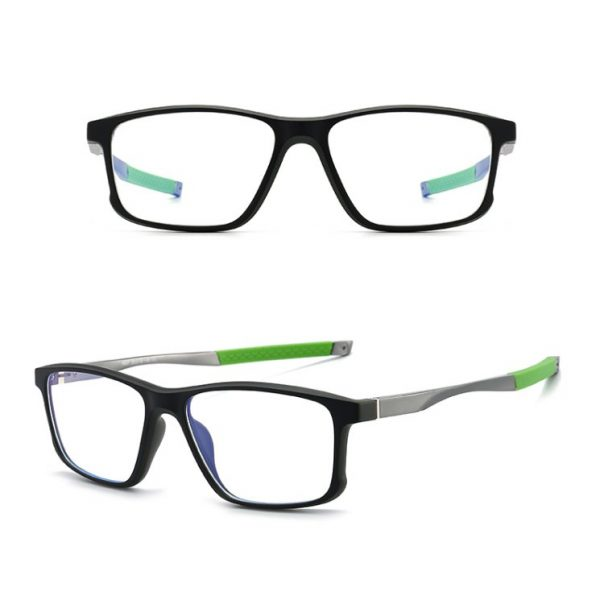 Eyeshield ES5 Kék fény szűrő gamer szemüveg - zöld