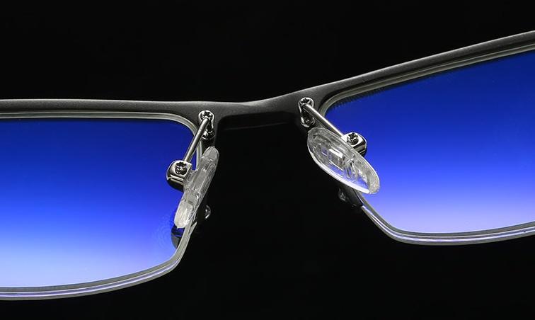 Pro alloy 2 fém monitor szemüveg orrtám