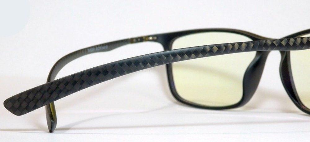 Pro Carbon1 monitor szemüveg gamer szemüveg fekete szár