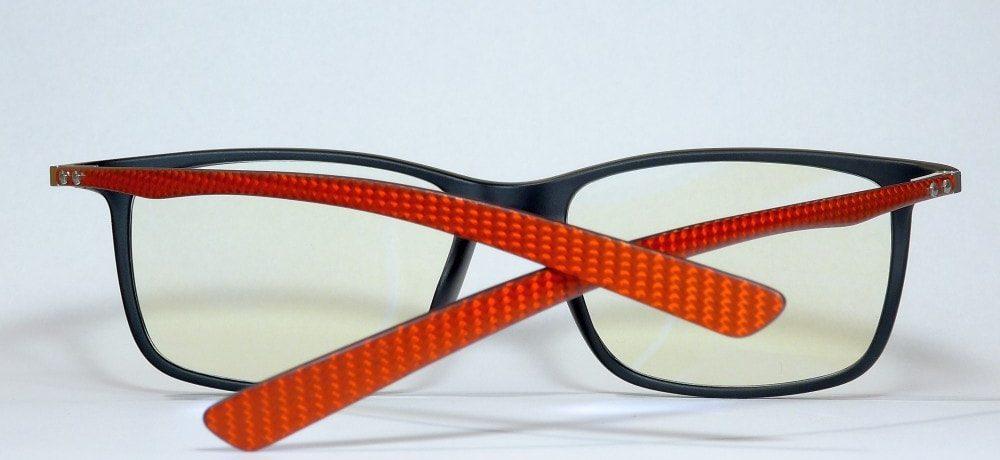 Pro Carbon1 monitor szemüveg gamer szemüveg piros